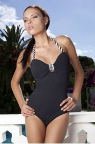 Oriental Pearl one piece swimwear の画像