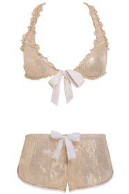 Picture of 'Oh You Pretty Things' Brassiere-shorty lingerie set