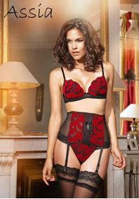 Picture of Ispahan Deep plunge lingerie set